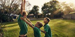الرياضة الجماعية لتجاوز تجارب الطفولة السيئة