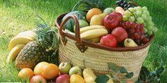 فوائد الفواكه والخضراوات تختلف تبعا لألوانها ...