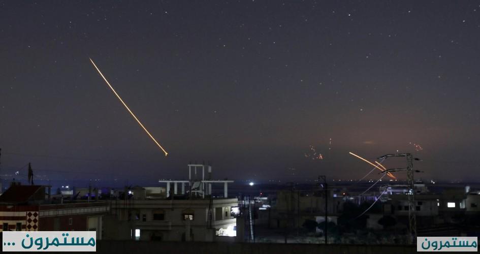جيش الاحتلال يزعم إطلاق قذائف من سورية باتجاه الجولان