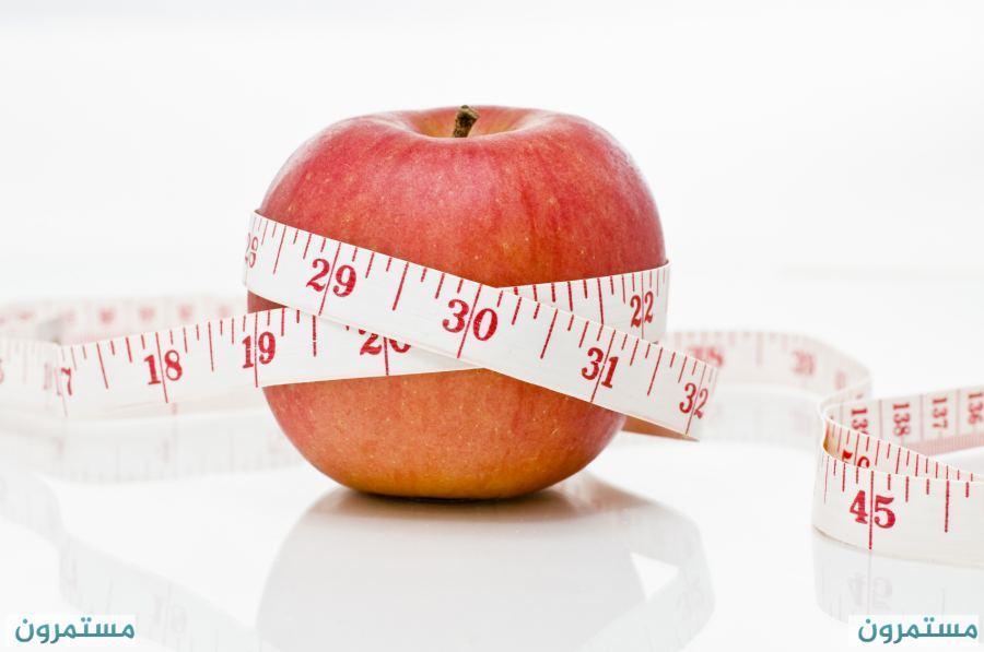 جدول السعرات الحرارية في الأغذية