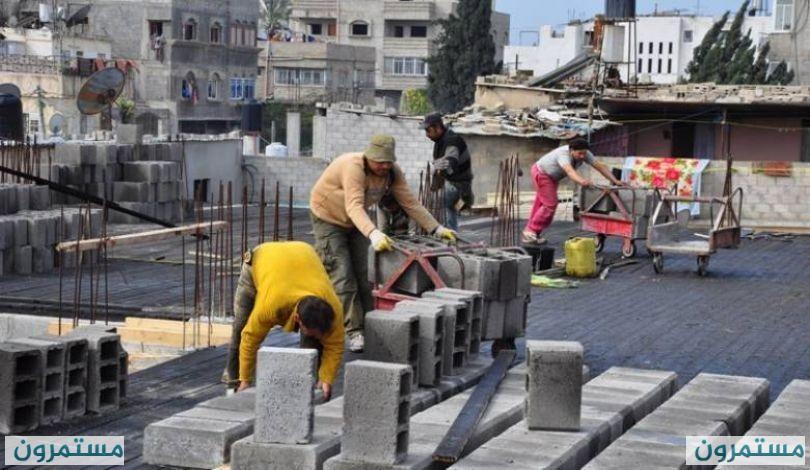 سوق غزة : أجر العامل أقل من 20 شيكلاً في اليوم