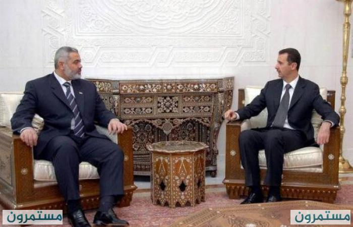 التلفزيون السوري يوضح حقيقة عودة العلاقات السورية مع حماس!