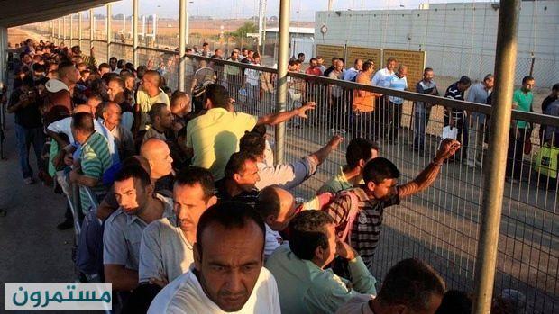 إسرائيل : دخول العمال من غزة الى إسرائيل سيساعد على خفض التوتر والجيش يؤيد!!