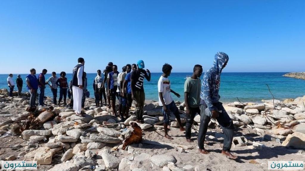 ليبيا: انتشال عشرات الجثث لمهاجرين غرق مركبهم وإنقاذ 269 آخرين