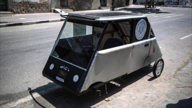 سيارة كهربائية تعمل بأشعة الشمس جاري تطويرها !!