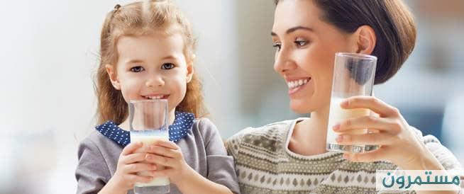 فوائد الحليب البقري