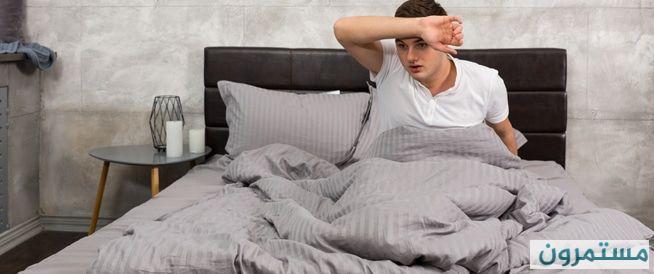 التعرق أثناء النوم: أسباب صحية عديدة