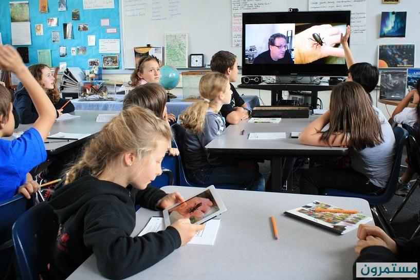 الافتراضية تعليم جديد