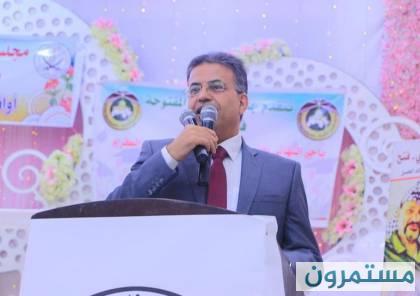 أبو حسنة : مستجدات الموقف بخصوص التعليم والمساعدات وأصحاب البيوت المهدمة وأخرى