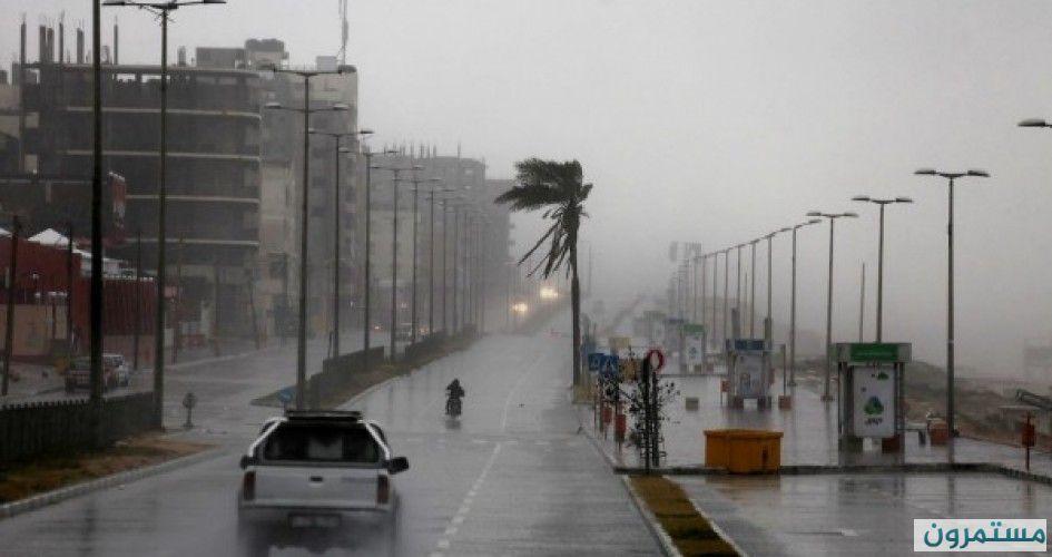 غزة: تعليمات هامة للمواطنين بشأن المنخفض الجوي