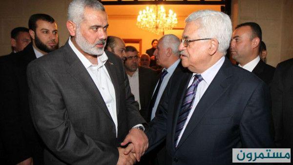 بعد انتهاء حوار القاهرة.. الرئيس عباس يتلقى اتصالاً هاتفياً من هنية