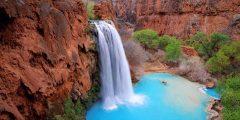 شلالات هافاسو من أجمل شلالات العالم
