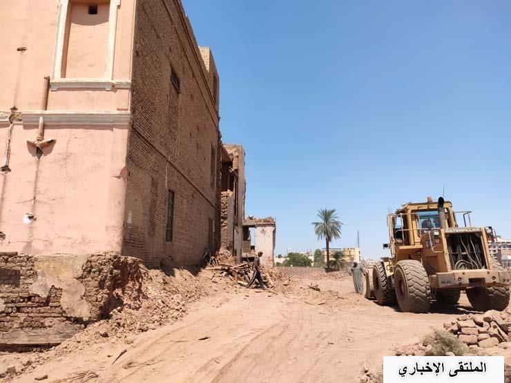 مفاجأة بشأن هدم قصر توفيق باشا أندراوس بالأقصر.. أسفله بقايا معبد فرعوني