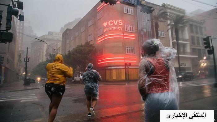 """شاهد: إعصار أيدا يسبب """"كارثة كبرى"""" في ولاية لويزيانا الأمريكية"""