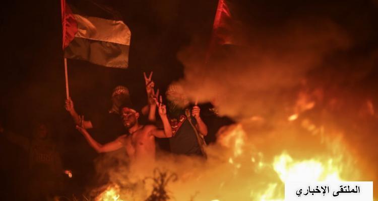 الإرباك الليلي يتجدد شرق غزة الليلة