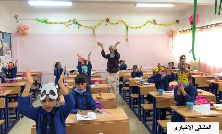 طلبة لاجئي فلسطين في الأردن يعودون إلى مدارسهم بعد أشهر من التعلم عن بعد