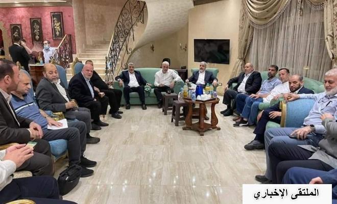 تفاصيل اجتماع قيادة حماس مع وزير المخابرات المصرية في القاهرة